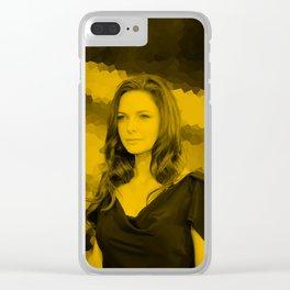 Rebecca Ferguson Clear iPhone Case