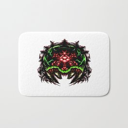 Super Metroid: Angry Baby Graphic Bath Mat