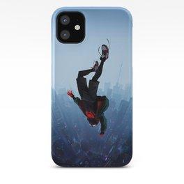 Miles Morales jump iPhone Case