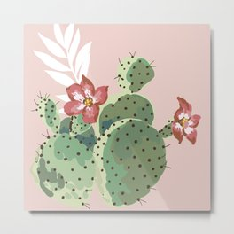 Another cactus design Metal Print