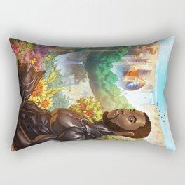 Black Panther the Warrior King Rectangular Pillow