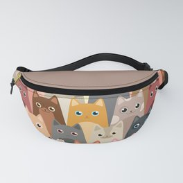 Cats Pattern Fanny Pack