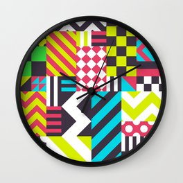 Dazzle Wall Clock
