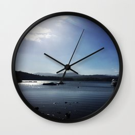 White Cross Bay 1 Wall Clock