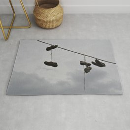 Shoes In The Air Rug