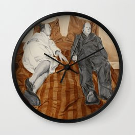 Post Modern Intimacy II Wall Clock