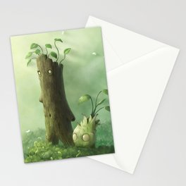 Plant Folk Stationery Cards