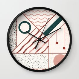 add caption Wall Clock