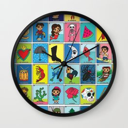 LOTERIA! Wall Clock
