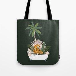 Jungle Spa Tote Bag