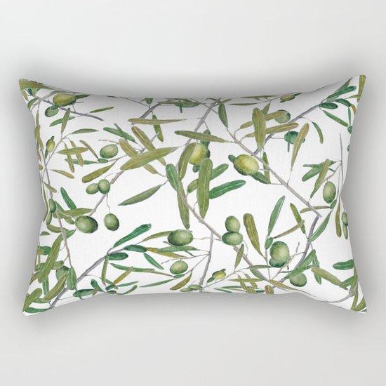 olive pattern Rectangular Pillow