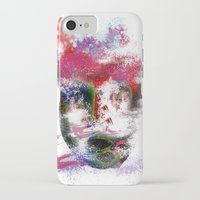 no face iPhone & iPod Cases featuring Face by Marian - Claudiu Bortan