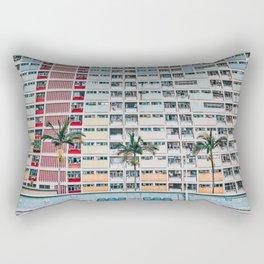 Rainbows at Choi Hung Rectangular Pillow