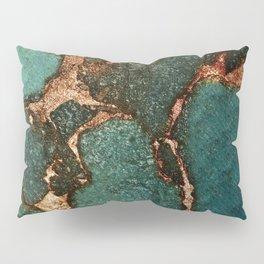 IZZIPIXX - EMERALD AND GOLD Pillow Sham
