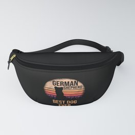 German Shepherd graphic For Dog Lovers Cute Dog Fanny Pack