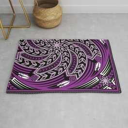 Wind Spirit (Purple) Rug