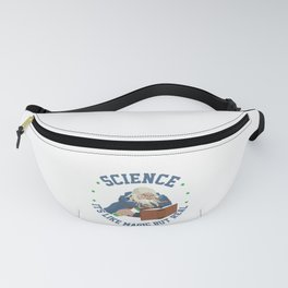 Science Like Magic But Real Wizzard Magician Gift Fanny Pack
