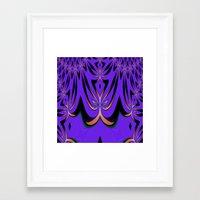 aliens Framed Art Prints featuring Aliens... by Cherie DeBevoise
