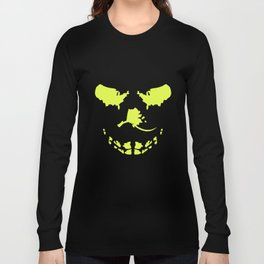 Big Skull Glow In The Dark Funny Hipster T-Shirts Long Sleeve T-shirt