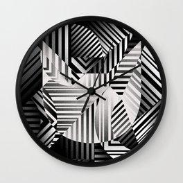 Dazzle cat Wall Clock