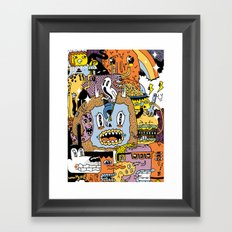 The Escape Plan Framed Art Print
