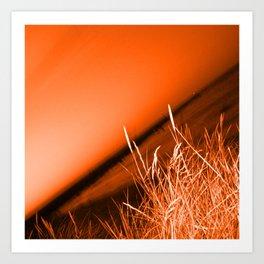 Sunrise over Southwald UK beach Art Print