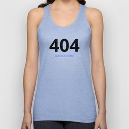 404 page Unisex Tank Top