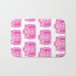 I Still Shoot Film Holga Logo - Pink Bath Mat