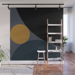 Circular Abstract II Wall Mural