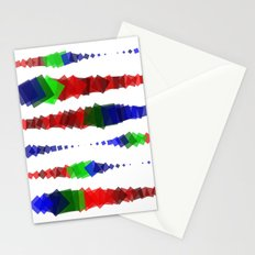 Screen Squares Stationery Cards