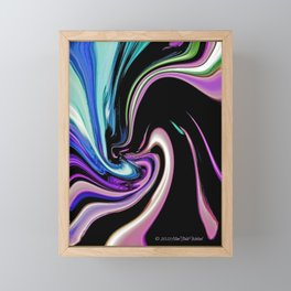 """Pastel Nightlife"" Framed Mini Art Print"
