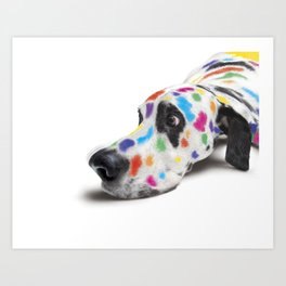 Spotted dog#2 Art Print