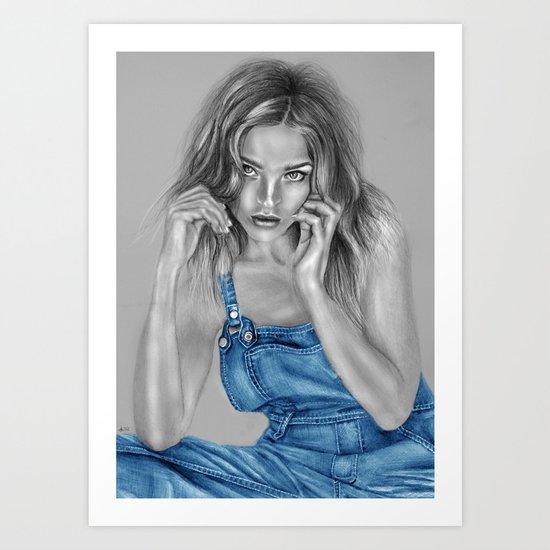 + LOST + Art Print