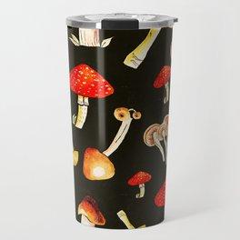 Brigt Mushrooms Travel Mug