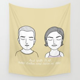 M and  D Wall Tapestry