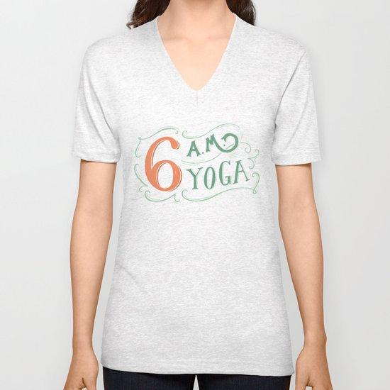 6AM Yoga Unisex V-Neck