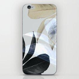 Moody Leaves II iPhone Skin