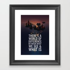 Bioshock Infinite Quote Framed Art Print