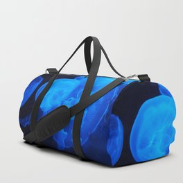 Blue Jelly Fish Duffle Bag