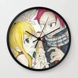 Fairies in Love Wall Clock