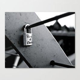 Love Locks 2012 16 Canvas Print