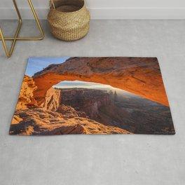 USA Jeff Wallace, Mesa Arch, anyonlands Rock Nature canyons park Crag Cliff Canyon Parks Rug