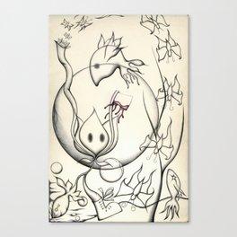Weird by Nature Canvas Print