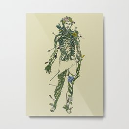Wound Man Metal Print