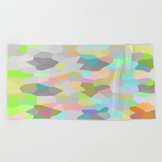 Crystallize 9 Beach Towel