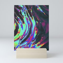 trippy psychedelic artworks wall prints Mini Art Print
