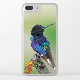 hummingbird Clear iPhone Case
