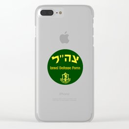 Logo of the Israel Defense Force Clear iPhone Case