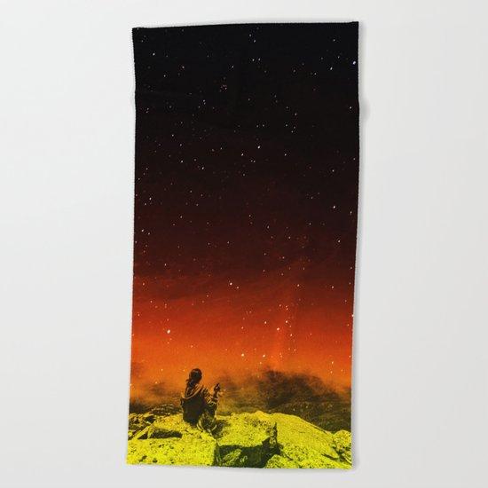 Burning Hill Beach Towel