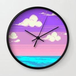 S k y Wall Clock